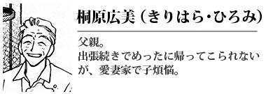 桐原広美(きりはら ひろみ)
