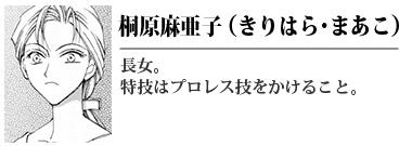 桐原麻亜子(きりはら まあこ)