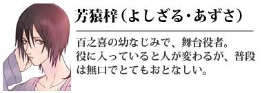 芳猿梓(よしざる あずさ)
